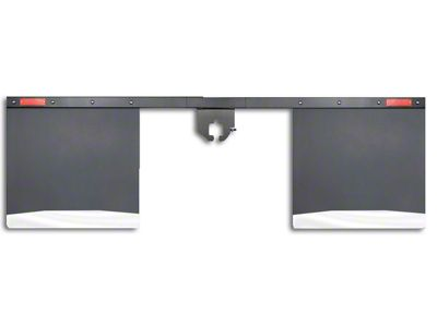 Husky 2 in. Receiver Hitch Mount Mud Flaps - 96 in. Wide (97-18 F-150)