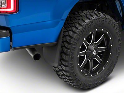 Husky Custom Molded Front & Rear Mud Guards (15-19 F-150, Excluding Raptor)