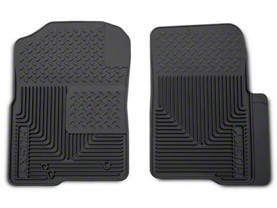 Husky Heavy Duty Front Floor Mats - Gray (04-10 F-150)