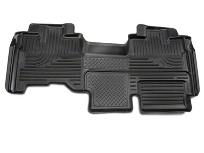 Husky WeatherBeater 2nd Seat Floor Liner - Full Coverage - Black (09-14 F-150 SuperCab)
