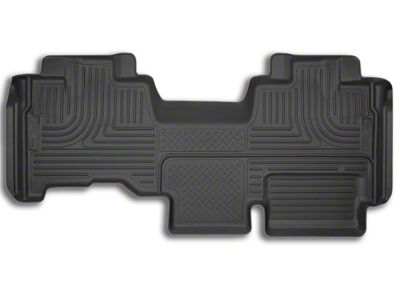 Husky X-Act Contour 2nd Seat Floor Liner - Black (09-14 F-150 SuperCab)