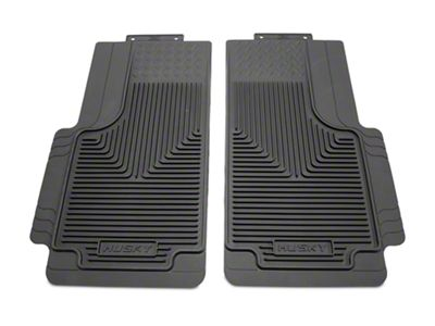 Husky Heavy Duty 2nd Row Floor Mats - Gray (97-10 F-150 SuperCab, SuperCrew)