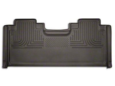 Husky WeatherBeater 2nd Seat Floor Liner - Full Coverage - Cocoa (15-19 F-150 SuperCab, SuperCrew)