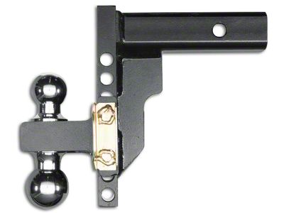 Husky 2 in. Receiver Adjustable Ball Mount - 8 in. Drop Hitch (97-18 F-150)