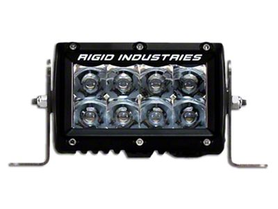 Rigid Industries 4 in. E-Series Amber LED Light Bar - Spot Beam