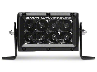 Rigid Industries 4 in. E-Series Midnight Edition LED Light Bar - Spot Beam