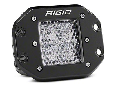 Rigid Industries D-Series Flush Mount LED Cube Light - 60 Deg. Diffused Beam