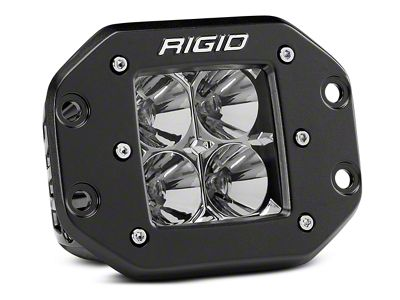 Rigid Industries D-Series Flush Mount LED Cube Light - Flood Beam