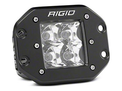Rigid Industries D-Series Flush Mount LED Cube Light - Spot Beam