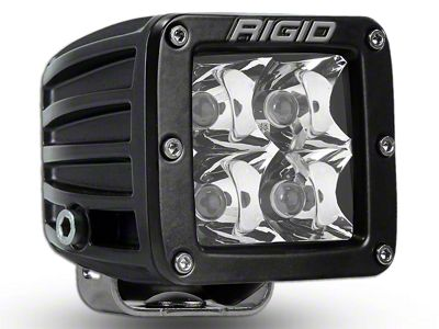 Rigid Industries D-Series HD Amber LED Cube Light - Spot Beam