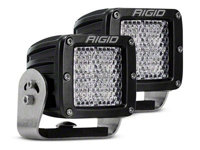 Rigid Industries D-Series HD LED Cube Lights - 60 Deg. Diffused Beam - Pair