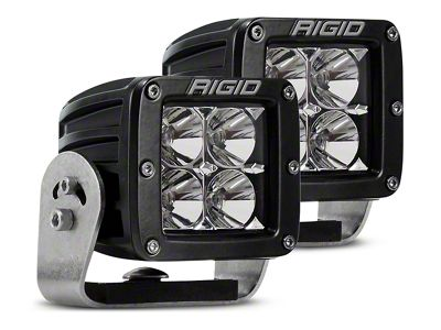 Rigid Industries D-Series HD LED Cube Lights - Flood Beam - Pair