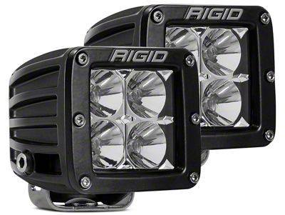 Rigid Industries D-Series LED Cube Lights - Flood Beam - Pair
