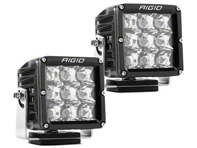 Rigid Industries Dually XL Series LED Cube Lights - Spot Beam - Pair
