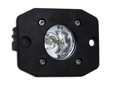 Rigid Industries Ignite Flush Mount LED Light - Flood Beam