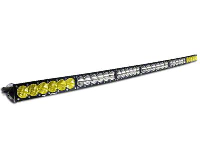 Baja Designs 60 in. OnX6 Arc Amber/White LED Light Bar - Dual Control