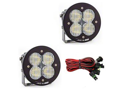 Baja Designs XL-R 80 LED Lights - Wide Cornering Beam - Pair