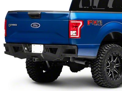Black Horse Off Road Armour Rear HD Bumper (15-19 F-150, Excluding Raptor)