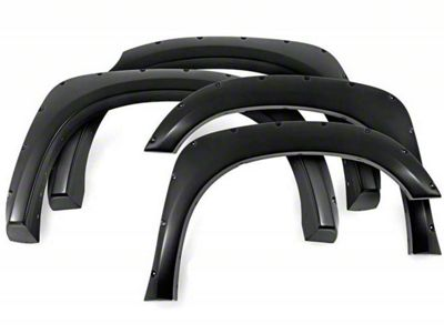 Black Horse Off Road Pocket Style Fender Flares - Matte Black (15-17 F-150 SuperCrew, Excluding Raptor)
