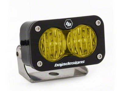 Baja Designs S2 Pro Amber LED Light - Wide Cornering Beam