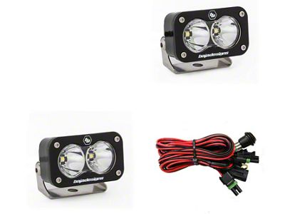 Baja Designs S2 Pro LED Light - Spot Beam - Pair