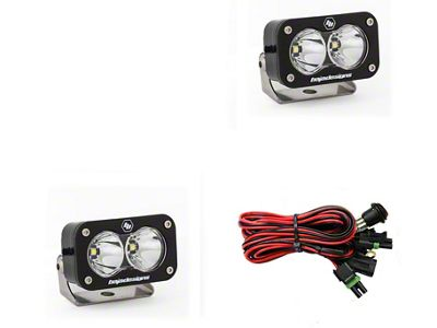 Baja Designs S2 Pro LED Light - Flood/Work Beam - Pair