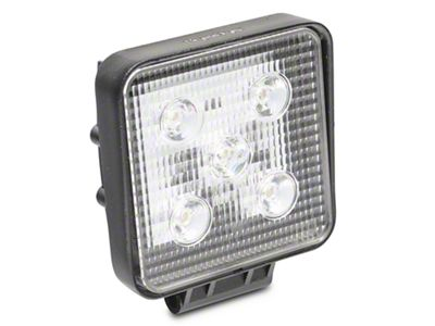 Alteon 4 in. Work Visor LED Cube Light - 60 Degree Flood Beam