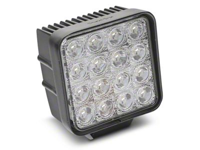 Alteon 4 in. Work Visor LED Cube Light - 30 Degree Flood Beam