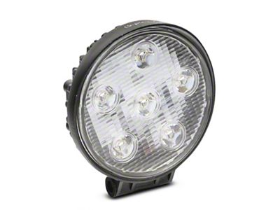 Alteon 4 in. Work Visor 6 LED Round Light - 60 Degree Flood Beam