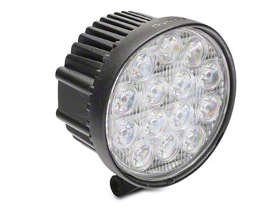 Alteon 4 in. Work Visor 14 LED Round Light - 30 Degree Flood Beam