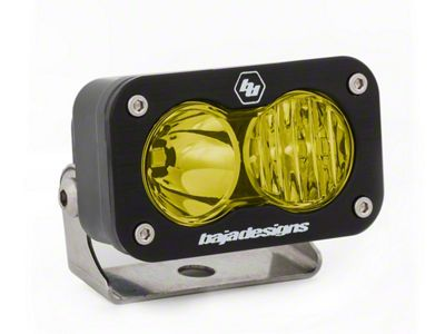 Baja Designs S2 Sport Amber LED Light - Driving/Combo Beam