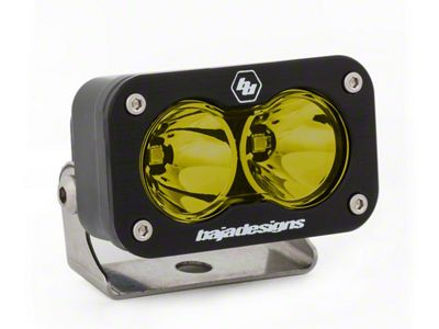 Baja Designs S2 Sport Amber LED Light - Flood/Work Beam