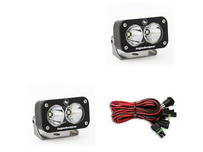 Baja Designs S2 Sport LED Light - Flood/Work Beam - Pair
