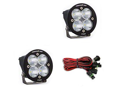 Baja Designs Squadron-R Pro LED Light - Flood/Work Beam - Pair