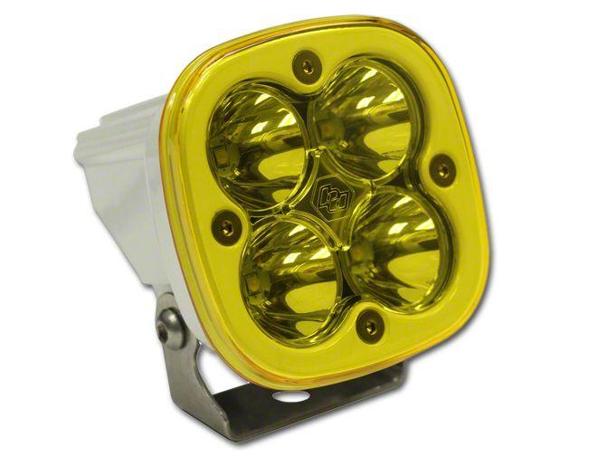 Baja Designs Squadron Sport Amber/White LED Light - Flood/Work Beam
