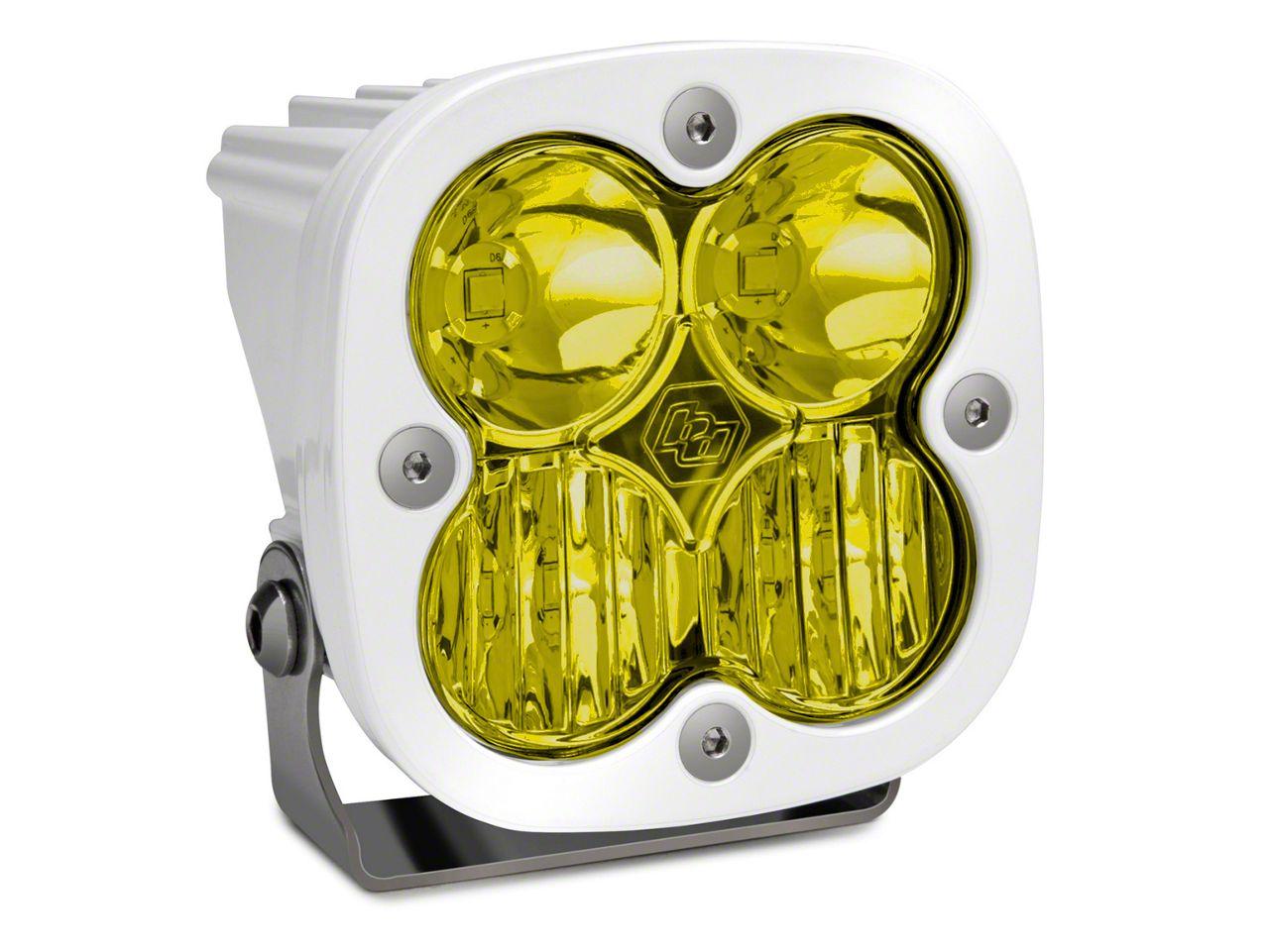 Baja Designs Squadron Sport Amber/White LED Light - Driving/Combo Beam