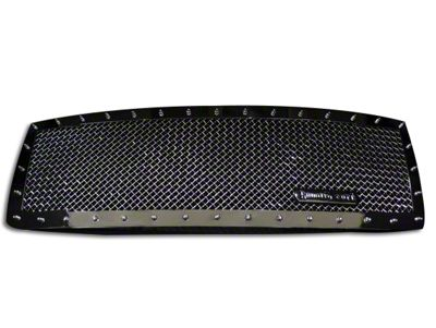 Royalty Core RC1 Classic Upper Replacement Grille - Chrome (13-14 F-150, Excluding Raptor)