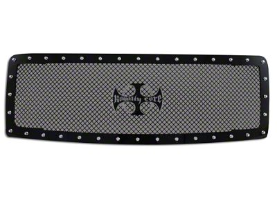 Royalty Core RC1 Upper Replacement Grille w/ Center Emblem - Black (13-14 F-150, Excluding Raptor)