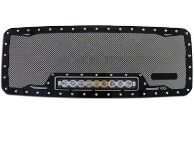 Royalty Core RC1X Incredible Upper Replacement Grille w/ 19 in. LED Light Bar - Black (09-12 F-150, Excluding Raptor)