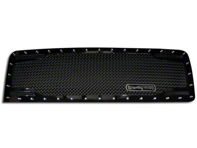 Royalty Core RC2 Twin Mesh Upper Replacement Grille - Black (13-14 F-150, Excluding Raptor)