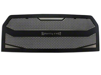 Royalty Core RC4 Layered Upper Replacement Grille - Black (15-17 F-150, Excluding Raptor)