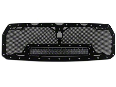 Royalty Core RCRX Race Line Upper Replacement Grille w/ 23 in. LED Light Bar - Black (17-19 F-150 Raptor)