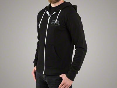 RTR Black Zip-Up Hoodie
