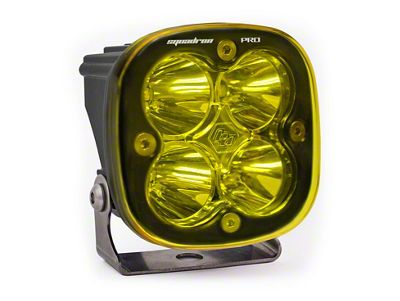 Baja Designs Squadron Pro Amber LED Light - Work/Flood Beam