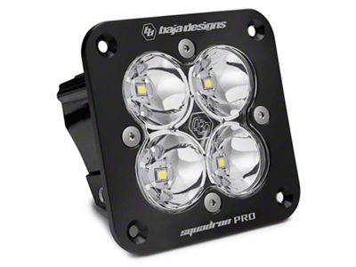 Baja Designs Squadron Pro Flush Mount LED Light - Work/Flood Beam