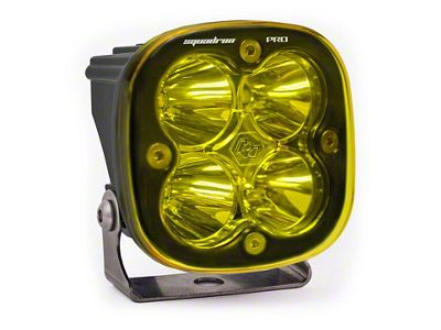 Baja Designs Squadron Pro Amber LED Light - Spot