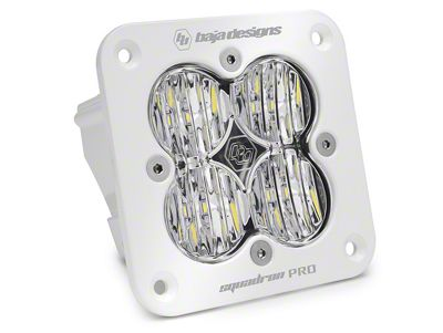 Baja Designs Squadron Pro Flush Mount White LED Light - Wide Cornering Beam