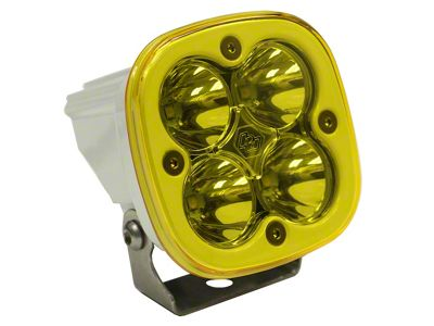 Baja Designs Squadron Pro White Amber LED Light - Spot Beam