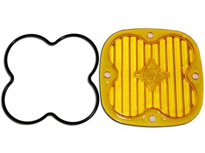Baja Designs Squadron Series Amber Lens Kit - Wide Cornering Beam (97-19 F-150)