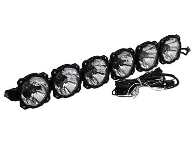 KC HiLiTES 45 in. Gravity Pro6 7-Light LED Light Bar - Flood/Spot Combo